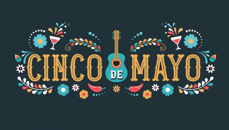 Cinco de Mayo celebration graphic.