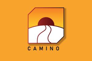 Camino logo with shadow.